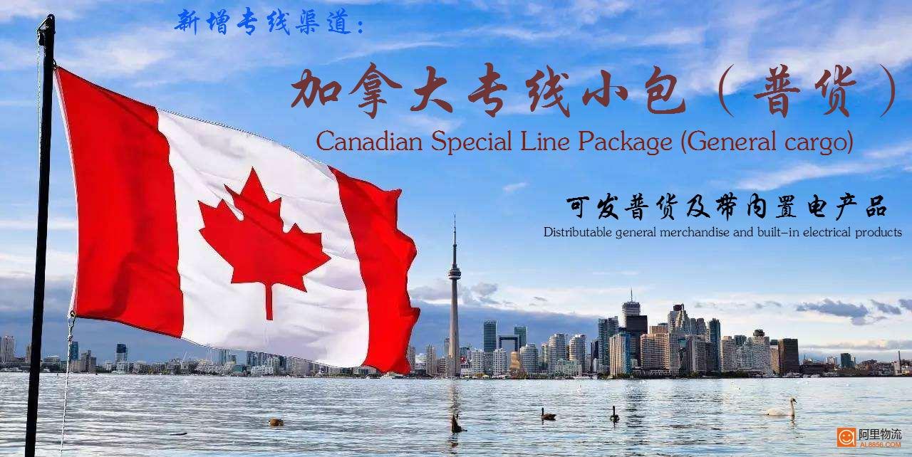 加拿大专线小包(普货)